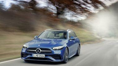 Nuova Mercedes Classe C SW: la gamma motori è tutta elettrificata