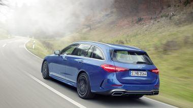 Nuova Mercedes Classe C SW: la prova in video della famigliare tedesca