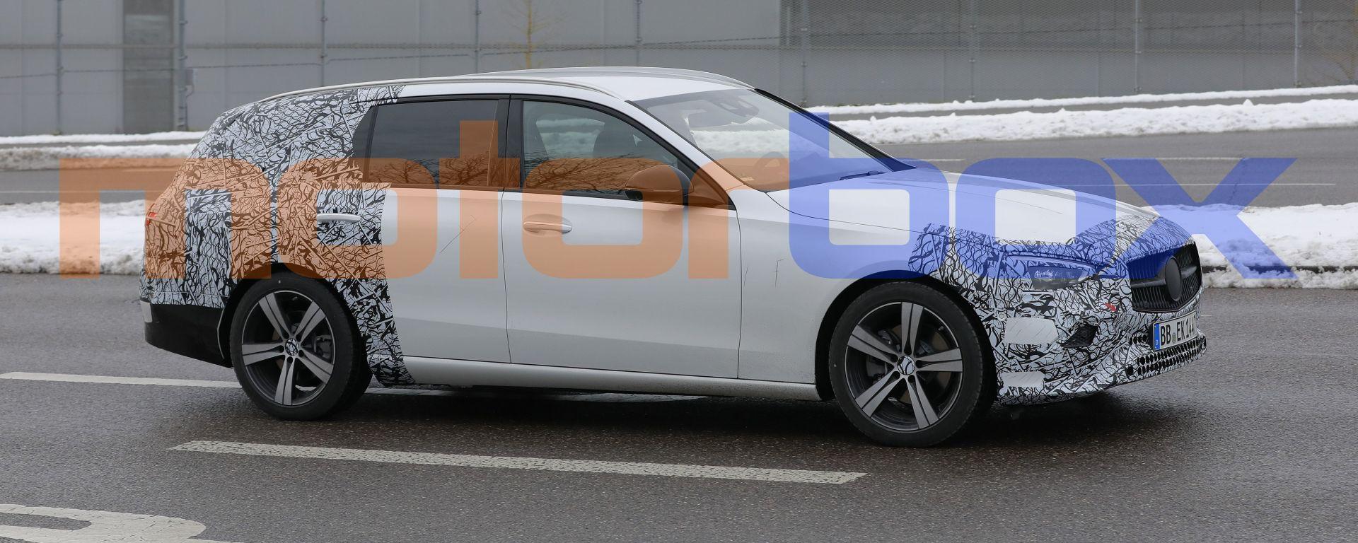 Nuova Mercedes Classe C SW: quasi pronta al debutto la wagon tedesca