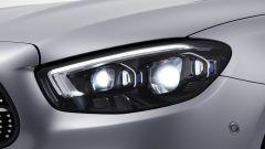 Nuova Mercedes Classe E 2020: i proiettori full LED