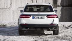 Nuova Mercedes Classe E 2020: la coda della All Terrain uguale alla sw normale