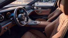 Nuova Mercedes Classe E 2020: l'abitacolo di prima classe