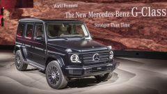 Nuova Mercedes Classe G 2018: dentro al rustico c'è un salotto - Immagine: 2