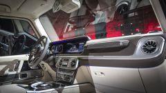 Nuova Mercedes Classe G 2018: dentro al rustico c'è un salotto - Immagine: 24
