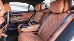 Nuova Mercedes Classe S: fino a 5 configurazioni per il divano posteriore