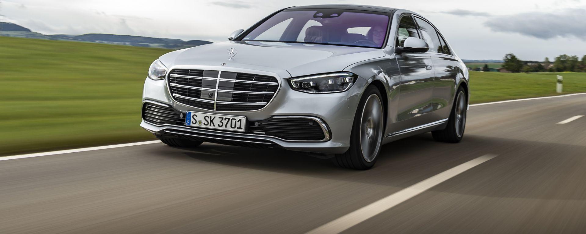 Nuova Mercedes Classe S: già pronta per la guida autonoma di livello 3