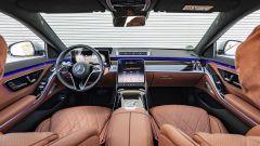 Nuova Mercedes Classe S: il lussuoso abitacolo