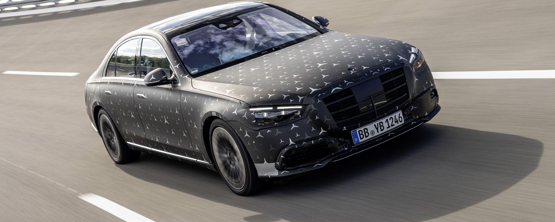 Nuova Mercedes Classe S: in arrivo a settembre
