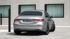 Nuova Mercedes Classe S: l'asse posteriore sterzante favorisce le manovre e migliora la stabilità