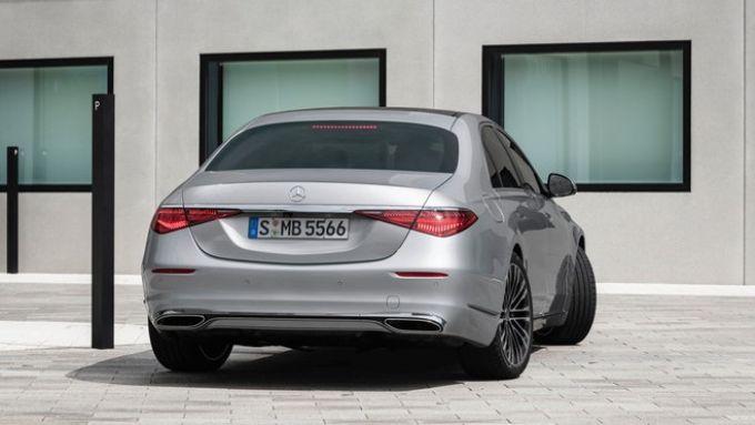 Nuova Mercedes Classe S: l'asse posteriore sterzante