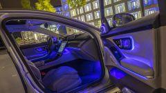 Nuova Mercedes Classe S: l'illuminazione dell'abitacolo si avvale di 250 LED