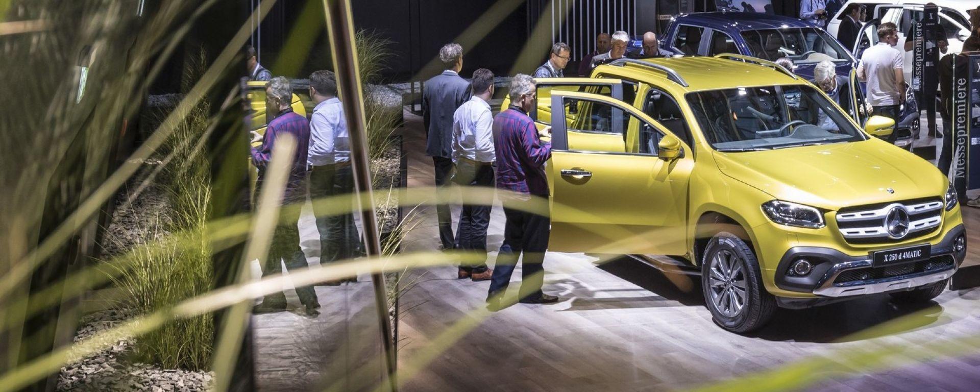 Nuova Mercedes Classe X: ecco il pick-up di lusso