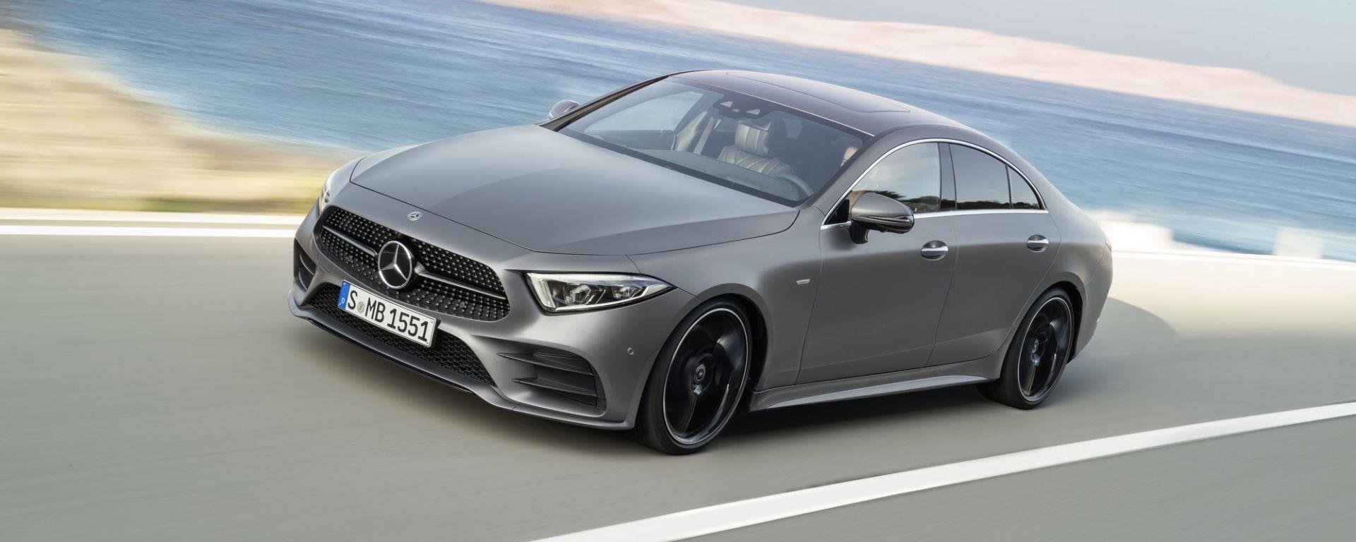 Nuova Mercedes CLS: rivoluzione della specie