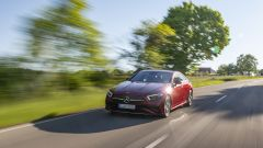 Nuova Mercedes CLS: motori, interni, foto del coupé quattro porte