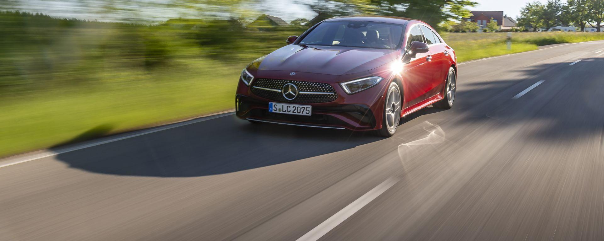 Nuova Mercedes CLS 2021: design e tecnologia all'avanguardia