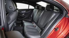 Nuova Mercedes CLS 2021: i sedili posteriori per tre passeggeri