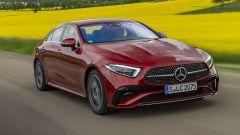 Nuova Mercedes CLS 2021: nuovo frontale con fari a LED affilati e mascherina differente