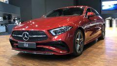 Nuova Mercedes CLS 2021: un momento delle presentazione statica