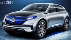 Nuova Mercedes EQ C: al via gli ordini per la SUV elettrica
