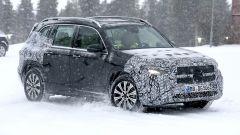 Nuova Mercedes EQB 2020: i collaudi si sono spostati sulle nevi della Svezia