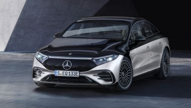 Nuova Mercedes EQE