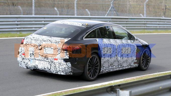 Nuova Mercedes EQS AMG: la berlina elettrica tedesca avrà oltre 600 CV di potenza