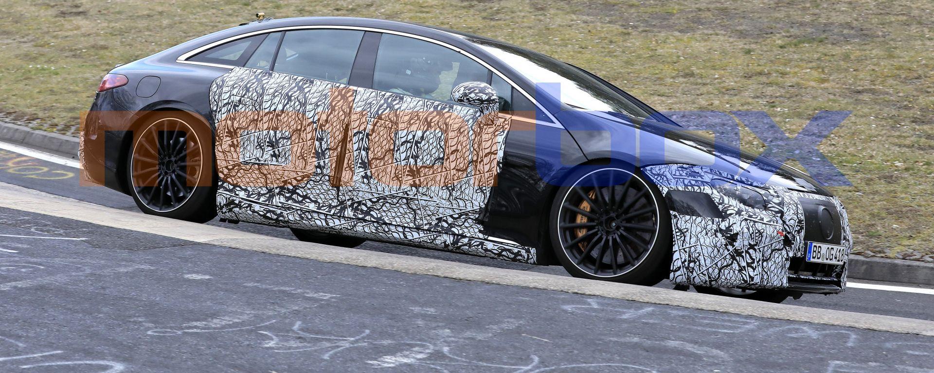 Nuova Mercedes EQS AMG: la maxi berlina elettrica passa sotto la cura del preparatore tedesco