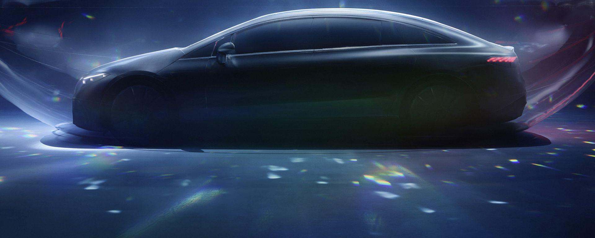Nuova Mercedes EQS, è l'ora della World Premiere