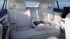 Nuova Mercedes EQS: i sedili posteriori