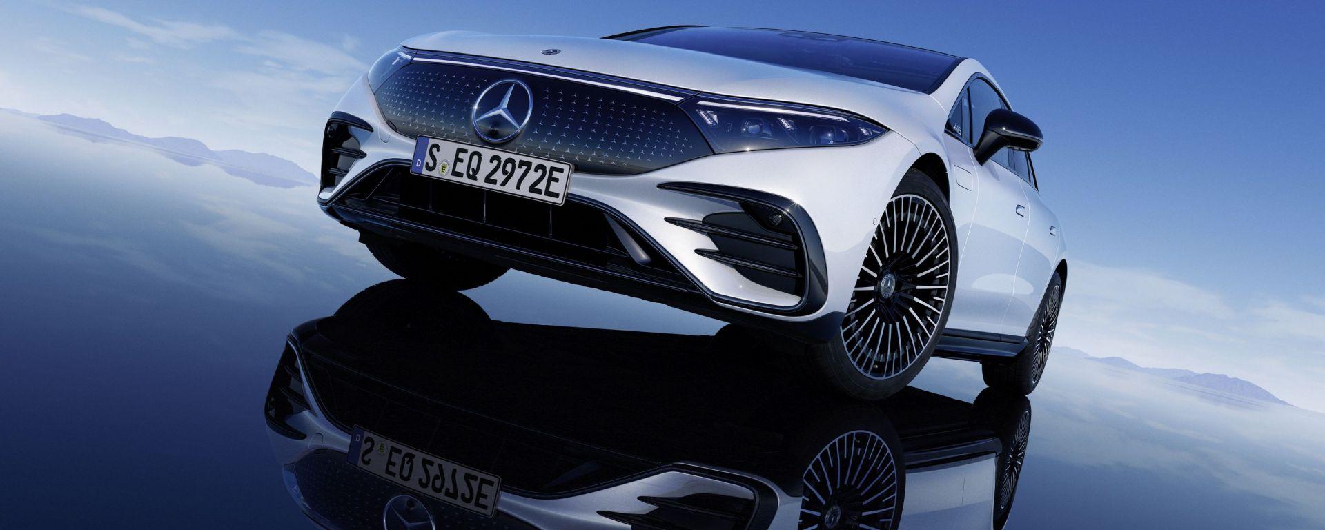 Nuova Mercedes EQS: l'ammiraglia diventa elettrica