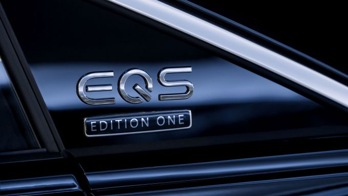 Nuova Mercedes EQS: serie di lancio Edition One
