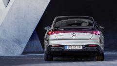 Nuova Mercedes EQS: visuale posteriore
