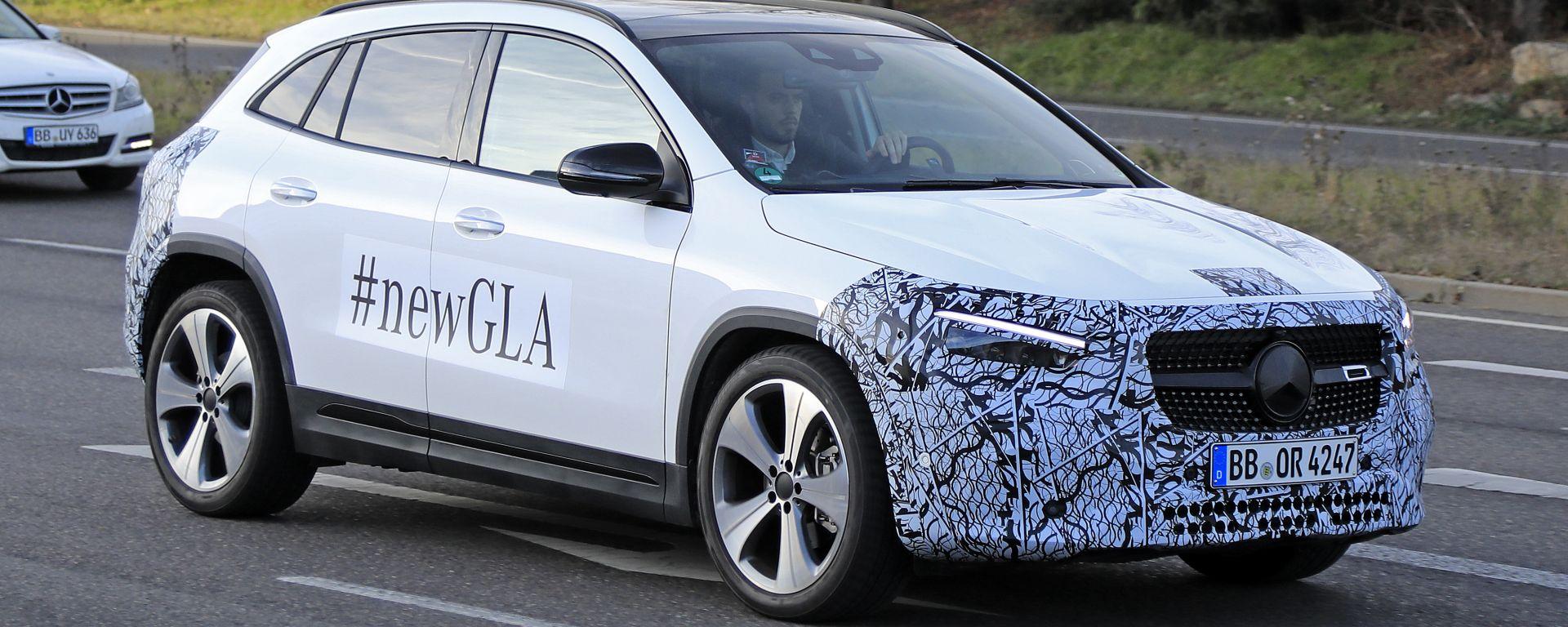 Nuova Mercedes GLA 2021: arriva il facelift