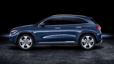Nuova Mercedes GLA, l'altezza cresce di 10 cm