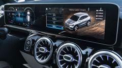 Nuova Mercedes GLA schermo