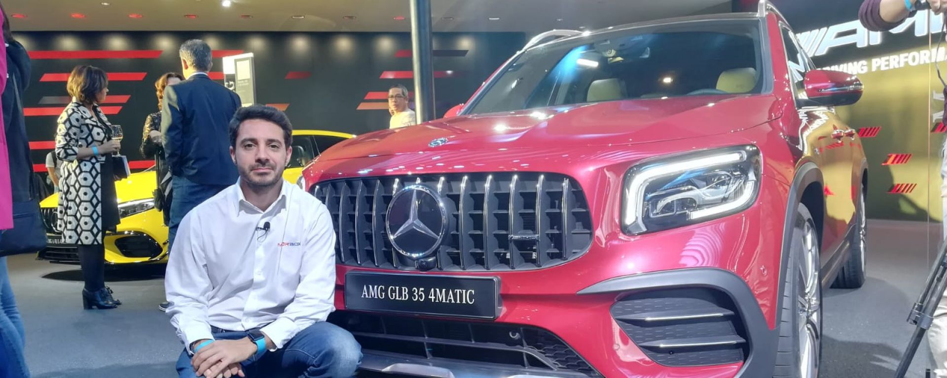 Nuova Mercedes GLB in video dal Salone di Francoforte 2019