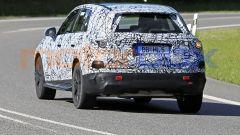 Nuova Mercedes GLC 2022: la vista posteriore mostra un rapporto larghezza/altezza da crossover