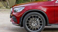 Nuova Mercedes GLC Coupé, dettaglio dei cerchi anteriori