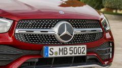 Nuova Mercedes GLC Coupé, dettaglio del frontale