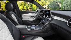 Nuova Mercedes GLC Coupé, gli interni