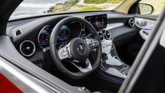 Nuova Mercedes GLC Coupé, il volante