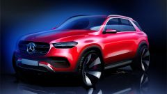 Nuova Mercedes GLE 2019: eccola senza camuffature - Immagine: 4