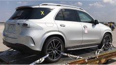 Nuova Mercedes GLE 2019: eccola senza camuffature - Immagine: 3