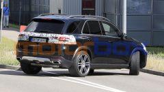 Nuova Mercedes GLE: cambieranno un po' anche i proiettori posteriori
