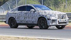 Nuova Mercedes GLE Coupé, prime foto spia
