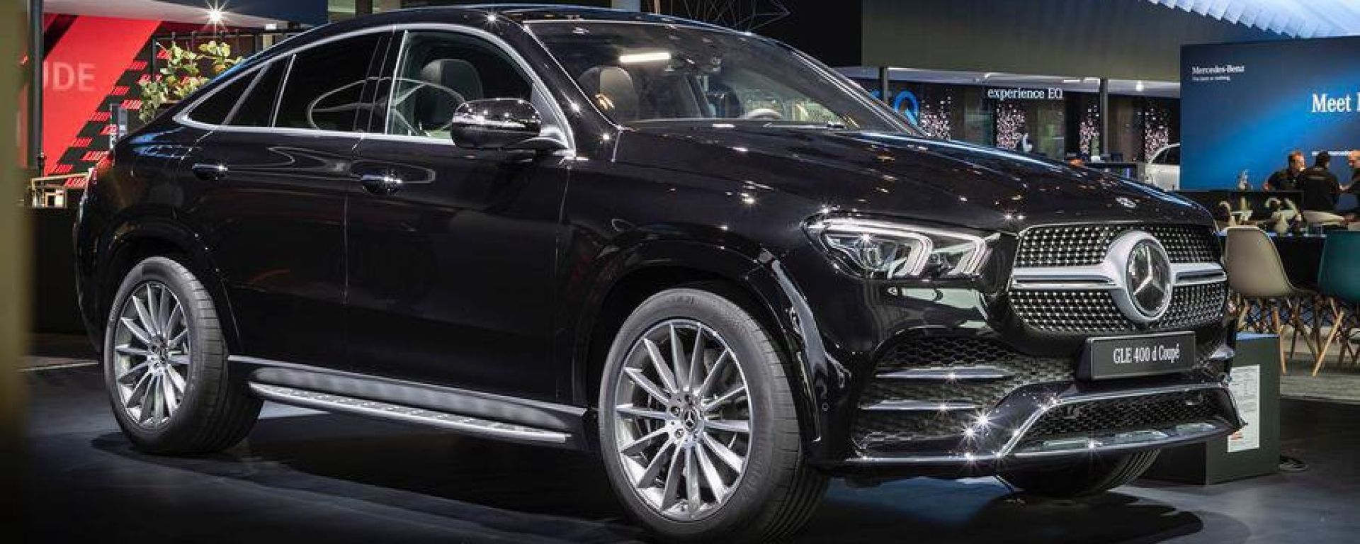 Nuova Mercedes GLE in video dal Salone di Francoforte 2019