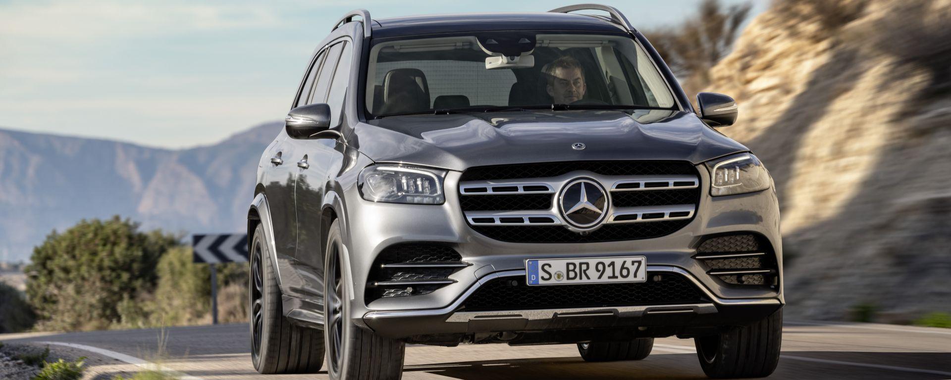 Nuova Mercedes GLS 2020: foto ufficiali dell'ammiraglia Suv