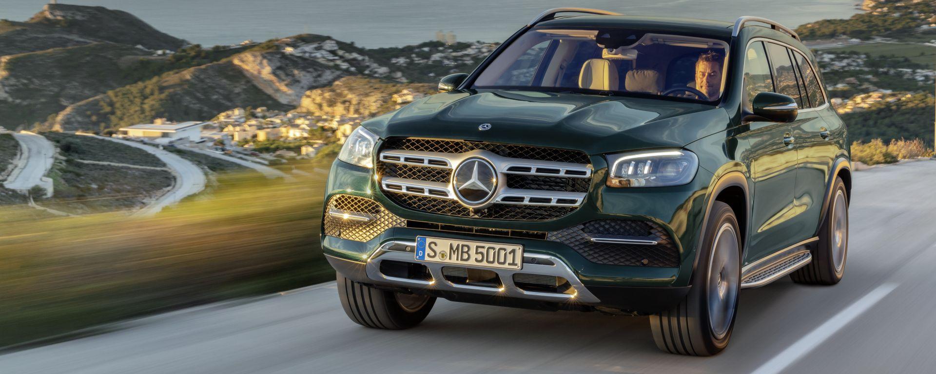 Nuova Mercedes GLS, il Gigante che ti vizia. Prova su strada