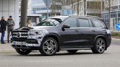 Nuova Mercedes GLS 2020: vista 3/4 anteriore