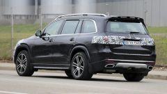 Nuova Mercedes GLS 2020: vista 3/4 posteriore